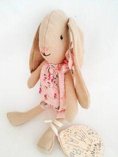 M16-2620-00 Maileg Little Flower Sister Floppy Eared Bunny Belle NEW IN!
