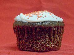 Wacky cupcake with lime juice