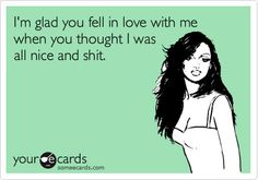 ha poor damion... actually he knew what I was like before he married me... that's the definition of crazy :)