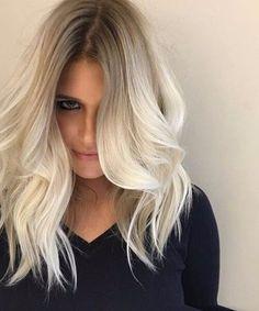 45 Bombshell Blonde Balayage Ideen