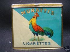 Muratti's public tobacco - Advertising Antiques & OldShopStuff.com Home - Forum - Collecting Enamel Signs Forums - Tobacciana & Smoking Collectables Forum