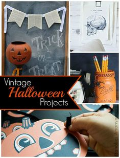 DIY Halloween projects to make for your fall home decor.