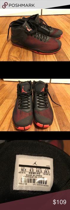 f391b60bcbf JORDAN SUPERFLY 4 PO SZ 10.5 INFRARED ANTHRACITE NIKE AIR JORDAN SUPERFLY 4  PO SZ 10.5