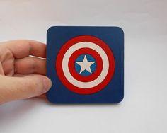 Untersetzer - Captain America, Avengers Untersetzer - ein Designerstück von…