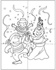 Carnevale-Carnival Power Points, Carnival Costumes, Kids And Parenting, Coloring Pages, Activities For Kids, Kindergarten, Snoopy, Fantasy, School