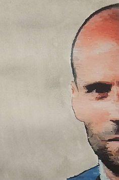 """Bild """"Jason Statham"""" in digital und Tusche Malerei von Jörg Schubert / schubertj73. Weitere Bilder auf Kunstblog https://www.chanceforum.de/blog/ Picture """"Jason Statham"""" in digital and ink painting by Jörg Schubert / schubertj73. More pictures on art blog https://www.chanceforum.de/blog/   #jason #statham #tusche #ink #malerei #painting #digital #schubertj73 #art #kunst #portrait #mischtechnik #mixedmedia"""