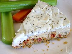 savory sun-dried tomato appetizer cheesecake