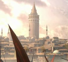 Torre di Galata (Instanbul) Galata tower (Instanbul) Assassin's creed revelations