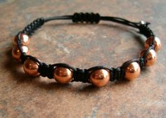 Copper Healing Energy Bracelet ~ Copper is considered a mineral of energy and mental agility. It helps move energy within the body thus releasing blockages/restrictions of chi, opens and activates the Root and Sacral Chakras, allows one to recognize the barriers blocking the way of one's path for development, helps the wearer overcome lethargic tendencies, stimulate the flow of psychic energies, frees the wearer of mental burdens and increases one's stamina…