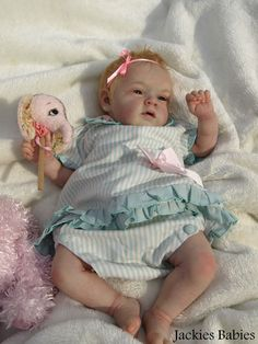 Jackies Babies~Reborn baby girl~doll~Mary-Ann~Natalie Blick~sold out #Reborn