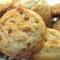 Keebler Copycat Pecan Sandies Cookies Recipe Desserts with butter, vegetable oil, sugar, confectioners sugar, eggs, vanilla extract, flour, baking soda, cream of tartar, salt, pecans, sugar
