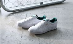 Puma Court Star Crafted: White/Green