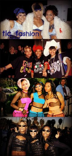 "See ""12 Times TLC Redefined Fashion In The '90s"" on BuzzFeed!"