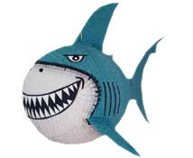 Shark Pinata MARTY ZEBRA