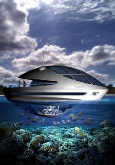 ♂ Life at the beach - Underwater Luxury Amphibious Floating Resort By Giancarlo Zema Design Group