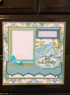 Making A Bridal Shower Scrapbook – Scrapbooking Fun! Bridal Shower Scrapbook, Wedding Scrapbook, Baby Scrapbook, Scrapbook Paper Crafts, Scrapbook Cards, Scrapbook Borders, Scrapbook Sketches, Scrapbook Page Layouts, Card Sketches