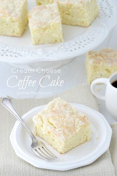 Looks dangerous, stretchy pants may be required -- Cream Cheese Coffee Cake