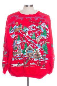 Red Ugly Christmas Sweatshirt 30374
