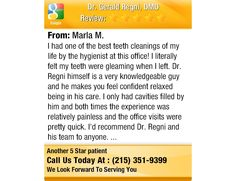 I had one of the best teeth cleanings of my life by the hygienist at this office! I...