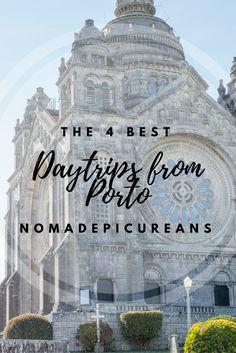Check out our 4 favourite day trips from Porto, Portugal! Including Braga, Guimaraes, Barcelos, Viana do Castelo.