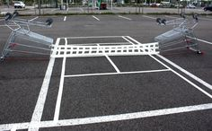 Parking lot arenas!