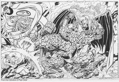 Fantastic Four Vs Blastaar & Annihilus by John Byrne