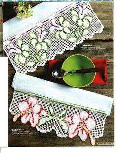 Mania de Tricotar: Barradinhos