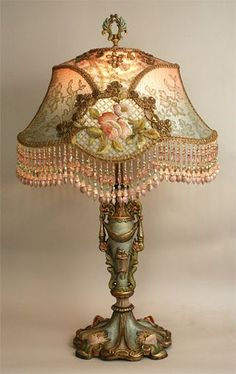 Antique+Table+Lamps | Vintage Lamps (Tiffany)