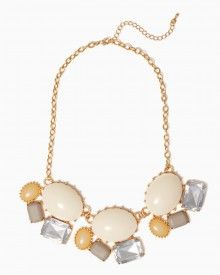 Charming Charlie Lilly Gemstone Necklace