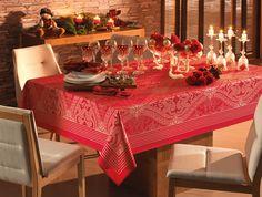 Toalha de mesa Classic Vermelha #decor #christmas