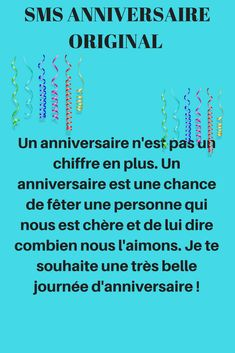 Birth Day QUOTATION – Image : Quotes about Birthday – Description sms anniversaire humour Sharing is Caring – Hey can you Share this Quote ! Birthday Message For Him, Funny Happy Birthday Messages, Birthday Ideas For Her, Birthday Text, Birthday Fun, Friends Birthday Quotes, Messages For Him, Funny Messages, Dad Quotes