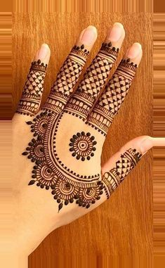 Henna Hand Designs, Henna Tattoo Designs, Mehndi Designs Book, Simple Arabic Mehndi Designs, Mehndi Designs 2018, Mehndi Designs For Beginners, Mehndi Designs For Girls, Mehndi Design Photos, Mehndi Designs For Fingers