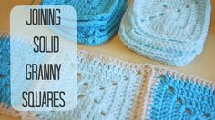 A much requested follow on video from the Solid granny square tutorial. Here is how I added my border and how to join the squares! First video can be found h...