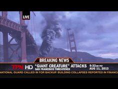 Breaking News: Kaiju Attack (Pacific Rim)