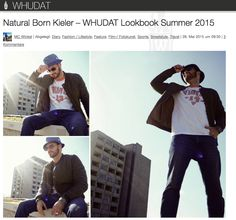 Blogger Whudat.de hat unseren Blouson in Oliv einfach cool gestyled! Thumbs up!