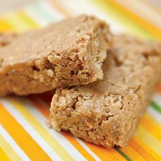 No-bake Chewy Granola Bars -- perfect for the lunchbox or for an after-school snack.