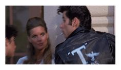 Grease - Danny movie gif grease 50s fifties danny john travolta Cult Movies, Series Movies, Tv Series, Grease 1, Drama Tv Shows, Romance And Love, John Travolta, Manga Comics, Classic Movies