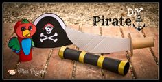 Miss Peguitos: DiY Disfraz casero de pirata diy costume pirate
