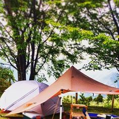 GWキャンプ行けず 画像で楽しむ…  #エリクサー #MSR #タープ #ノアーズタープ  #ソロキャンプ