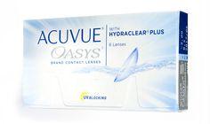 Johnson & Johnson Acuvue Oasys con Hydraclear Plus 6-pack