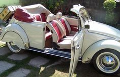 VW Beetle convertible, classic edition.