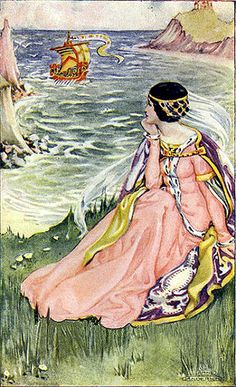 Anne Anderson - Anne Anderson was a prolific Scottish illustrator, primarily known for her art nouveau children's book illustrations, although she also painted, etched and designed greeting cards. Born 1884 - died 1930.