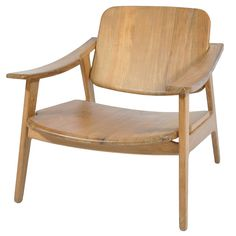 Woody Chair - Natural Teak - on Temple & Webster today.