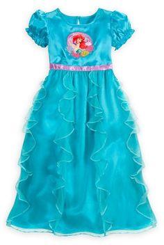 Disney Store Girls Ruffled Princess Ariel Nightgown - Little Mermaid Sleepwear (Size XS 4) Disney,http://www.amazon.com/dp/B00D96OEVI/ref=cm_sw_r_pi_dp_Erygsb1BHBA9MWYJ