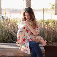 Desert Flower Nursing Poncho & Car Seat Cover – Milkmaid Goods