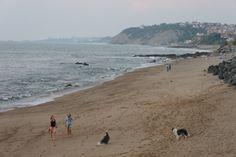 La superbe plage de Guethary avec vue sur Biarritz