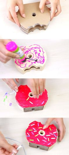 Easy-To-Do Donut Phone Charger Holder 3
