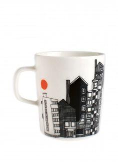 Mugs & Cups from Rörstrand, Arabia, Marimekko, Iittala, Royal Copenhagen Marimekko, Kitchenware, Tableware, Diy Couture, Shops, Cool Mugs, Mug Cup, Crate And Barrel, A Table