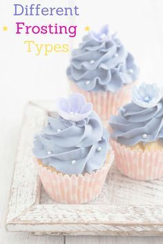 7 Different Frosting Types Different Frosting Types. So how do I make frosting and what are the different types of frosting out there? What is the best recipe to make frosting? Types Of Frosting, How To Make Frosting, Icing Frosting, Frosting For Cupcakes, Whipped Cream Frosting, Best Swiss Meringue Buttercream Recipe, Cake Frosting Tips, Best Frosting Recipe, 7 Minute Frosting