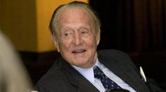Art Linkletter, the 89-year-old television and radio show host, spoke at a seminar about elderly drivers and safety on June 19, 2002.